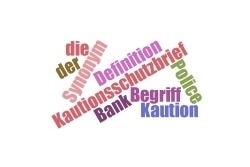 Definitionen und Begriffe rund um die Mietkautionsbürgschaft