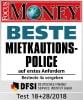 Testergebnis für Moneyfix® Mietkaution